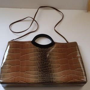 Jeanne Lottie Purse with handle and strap